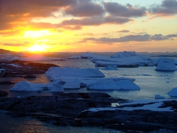 Antarctica landscapes Petermann Island  2